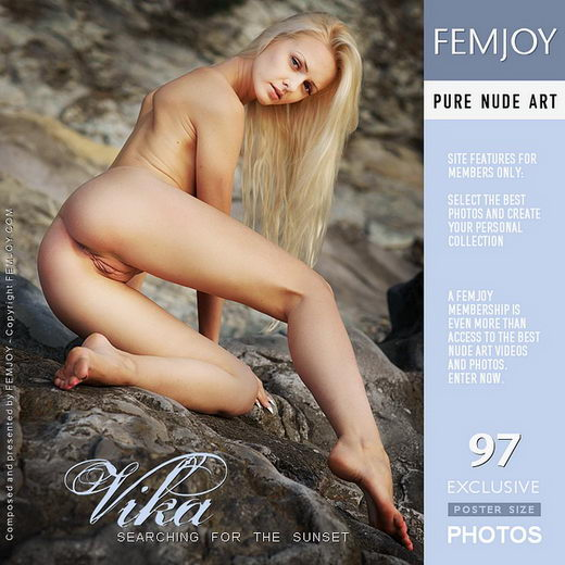 Vika - `Searching for the Sunset` - by Philipp Rusono for FEMJOY