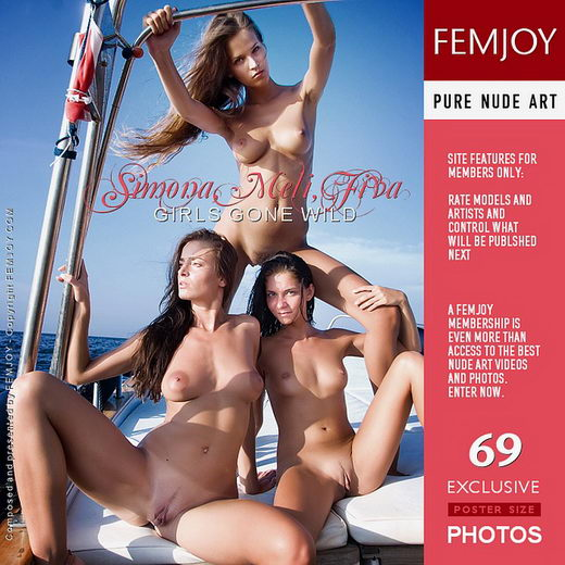 Simona & Meli & Fiva - `Girls Gone Wild` - by Pedro Saudek for FEMJOY