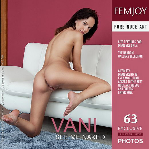 Vani - `See Me Naked` - by Lorenzo Renzi for FEMJOY
