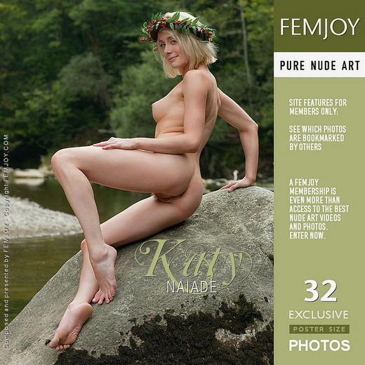 Katy - `Naiade` - by Stefan Soell for FEMJOY