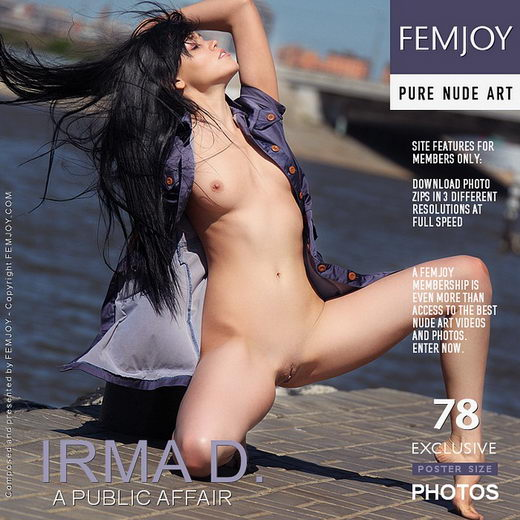Irma D - `A Public Affair` - by Helly Orbon for FEMJOY