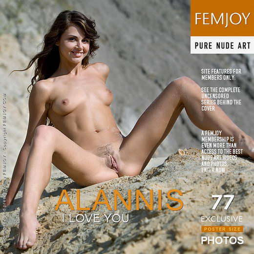 Alannis - `I Love You` - by Marian Silva for FEMJOY