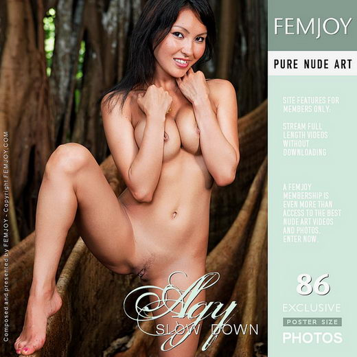 Agy - `Slow Down` - by Eric C for FEMJOY