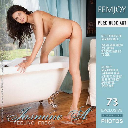 Jasmine A - `Feeling Fresh` - by Iain for FEMJOY