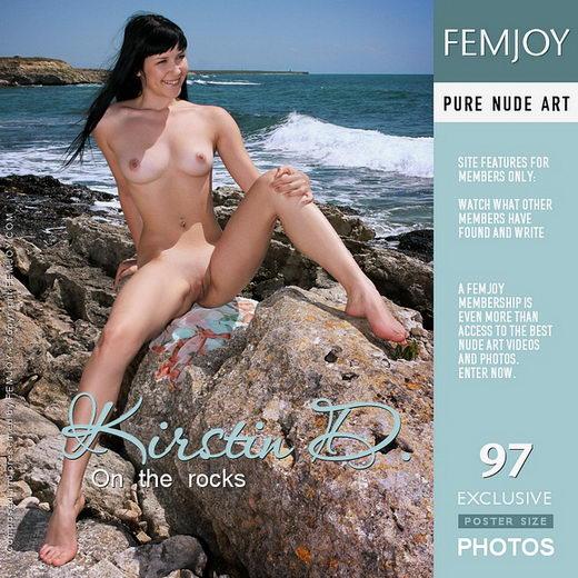 Kirstin D - `On the Rocks` - by Valery Anzilov for FEMJOY