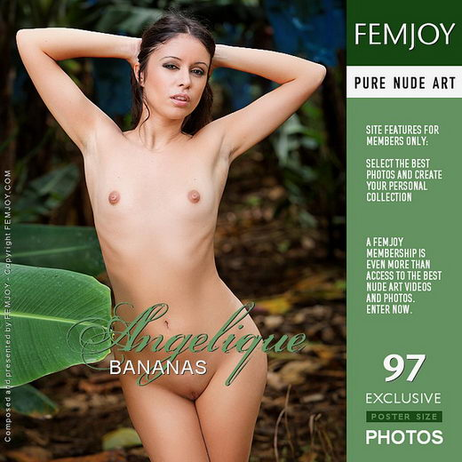 Angelique - `Bananas` - by Eric C for FEMJOY