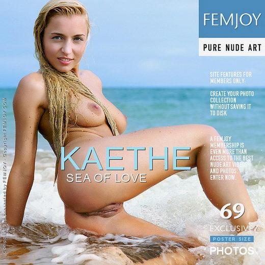 Kaethe - `Sea of Love` - by Philipp Rusono for FEMJOY