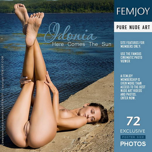 Idonia - `Here Comes The Sun` - by Pasha Lisov for FEMJOY