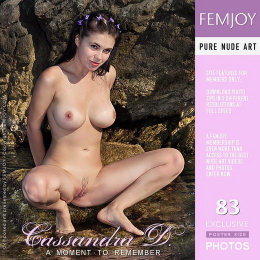 Cassandra D - `A Moment To Remember` - by Valery Anzilov for FEMJOY