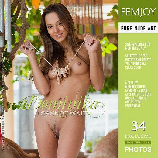 Dominika - `I cannot wait` - by Stefan Soell for FEMJOY