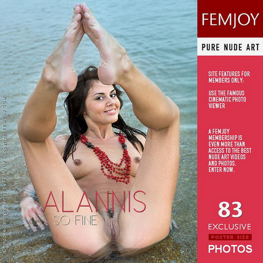 Alannis - `So Fine` - by Marian Silva for FEMJOY