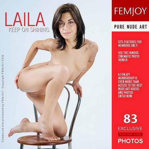 Laila - `Keep On Shining` - by Lorenzo Renzi for FEMJOY