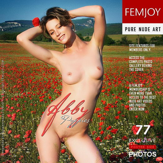 Abby - `Poppies` - by Santiago Aztek for FEMJOY