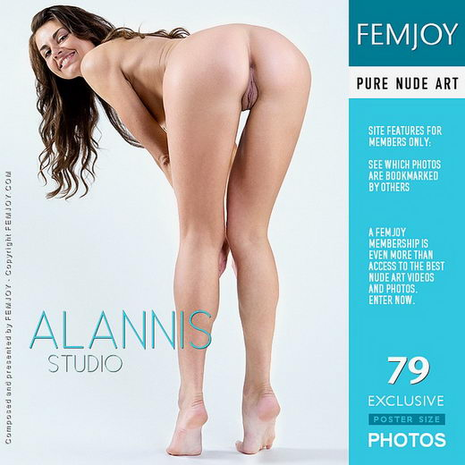 Alannis - `Studio` - by Marian Silva for FEMJOY