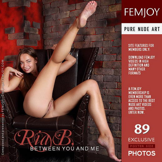 Ria B - `Between You And Me` - by Platonoff for FEMJOY