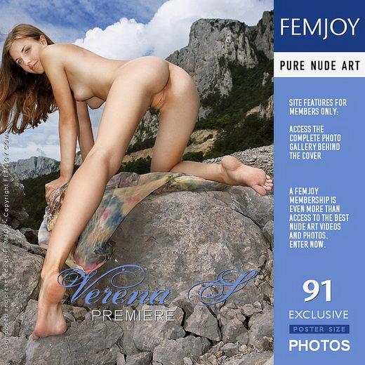 Verena S - `Premiere` - by Valery Anzilov for FEMJOY