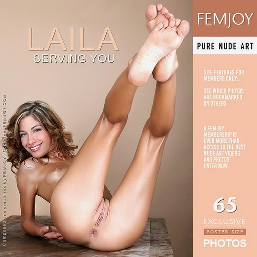 Laila - `Serving You` - by Tom Rodgers for FEMJOY