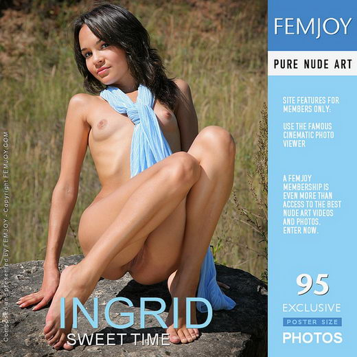 Ingrid - `Sweet Time` - by Helly Orbon for FEMJOY