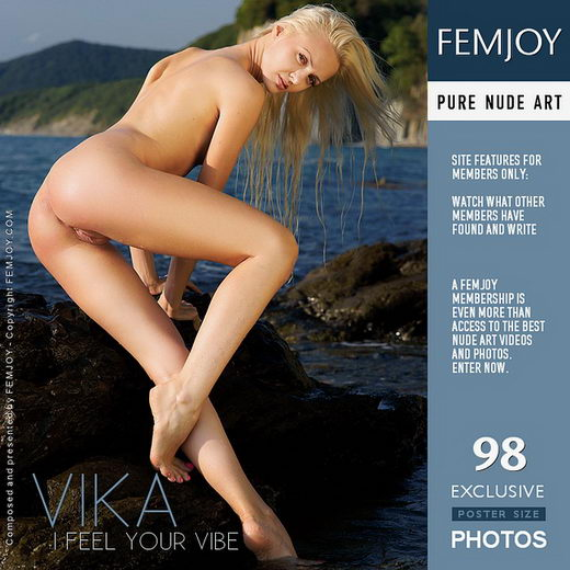 Vika - `I Feel Your Vibe` - by Philipp Rusono for FEMJOY