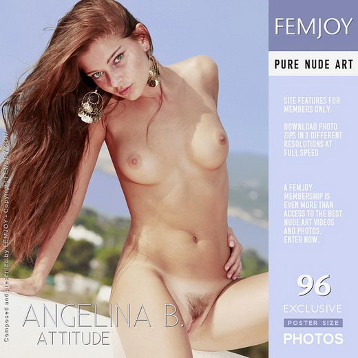 Angelina B - `Attitude` - by Palmer for FEMJOY