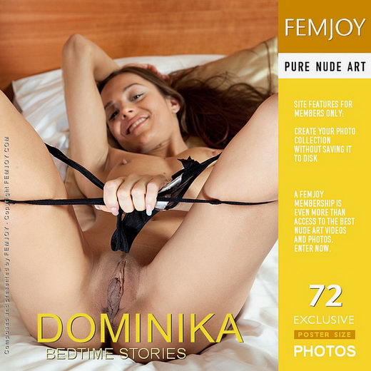 Dominika - `Bedtime Stories` - by Lorenzo Renzi for FEMJOY