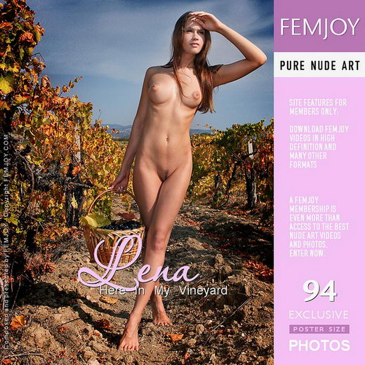 Lena - `Here in my Vineyard` - by Valery Anzilov for FEMJOY