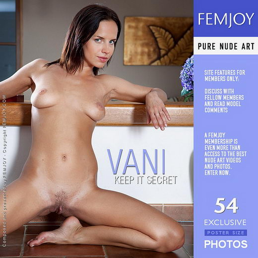 Vani - `Keep It Secret` - by Lorenzo Renzi for FEMJOY