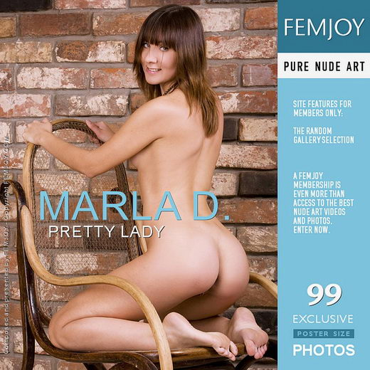 Marla D - `Pretty Lady` - by Pasha Lisov for FEMJOY