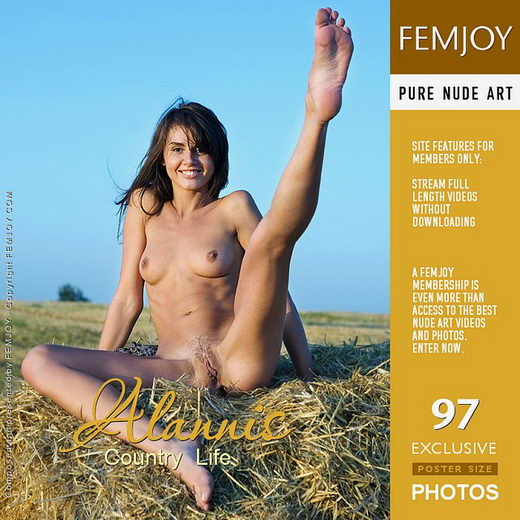 Alannis - `Country Life` - by Marian Silva for FEMJOY