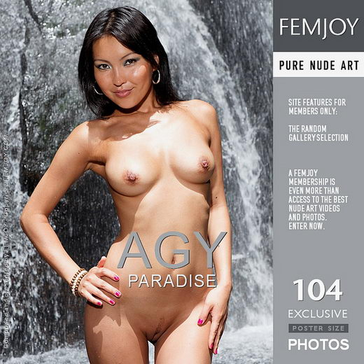 Agy - `Paradise` - by Eric C for FEMJOY
