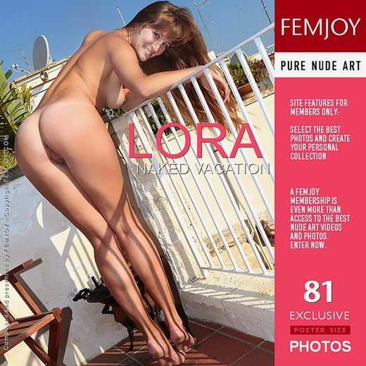 Lora - `Naked Vacation` - by Palmer for FEMJOY