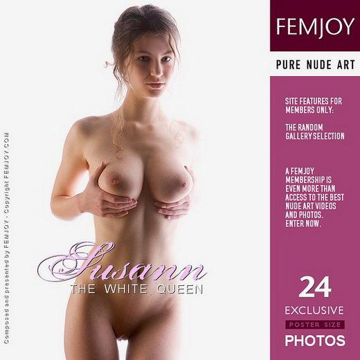 Susann - `The White Queen` - by Stefan Soell for FEMJOY