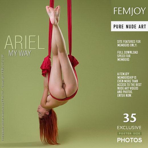 Ariel - `My Way` - by Stefan Soell for FEMJOY