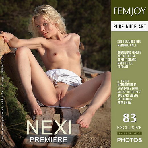 Nexi - `Premiere` - by Matthias Molle for FEMJOY