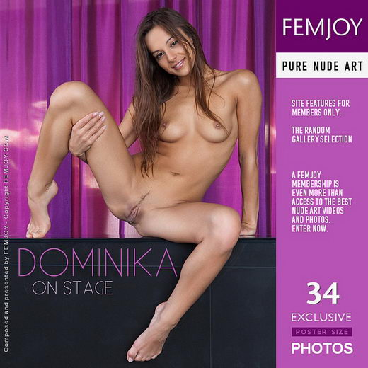 Dominika - `On Stage` - by Stefan Soell for FEMJOY