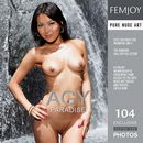 Agy in Paradise gallery from FEMJOY by Eric C
