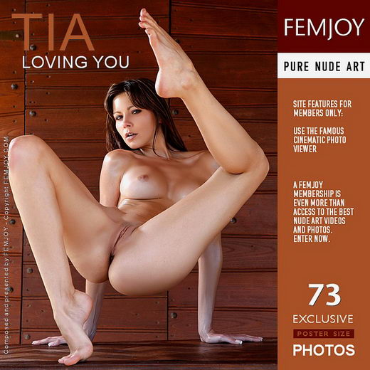 Tia - `Loving You` - by Tom Rodgers for FEMJOY