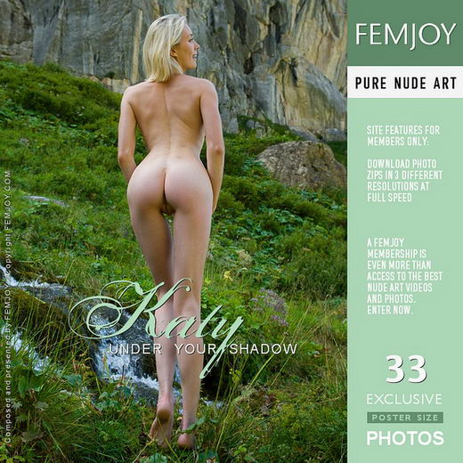 Katy - `Under Your Shadow (Swiss Mountains)` - by Stefan Soell for FEMJOY