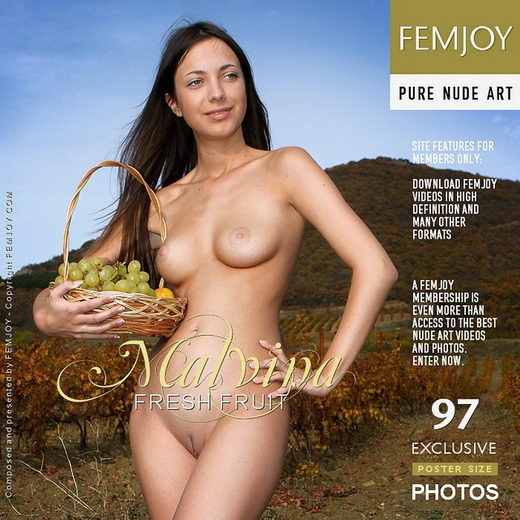 Malvina - `Fresh Fruit` - by Valery Anzilov for FEMJOY