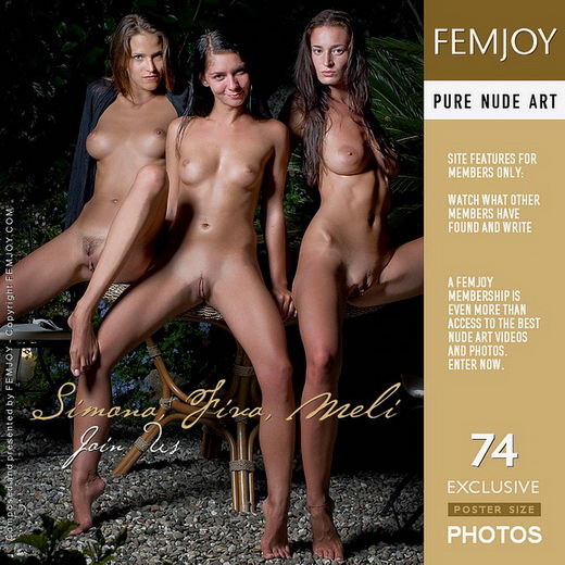 Simona & Fiva & Meli - `Join Us` - by Pedro Saudek for FEMJOY