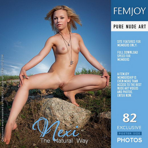 Nexi in The Natural Way gallery from FEMJOY by Matthias Molle