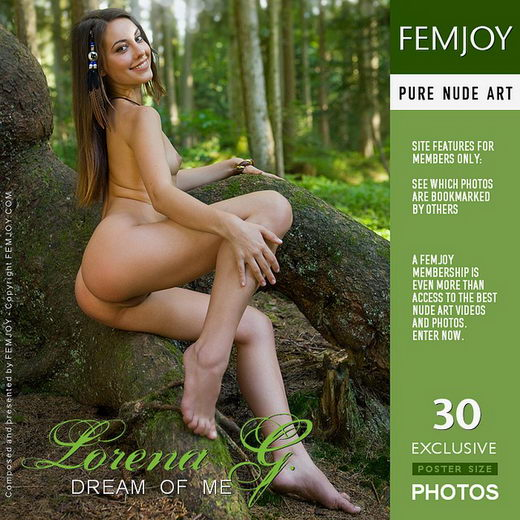 Lorena G - `Dream Of Me` - by Stefan Soell for FEMJOY