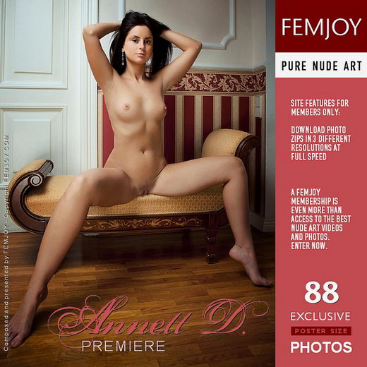 Annett D - `Premiere` - by Vaillo for FEMJOY