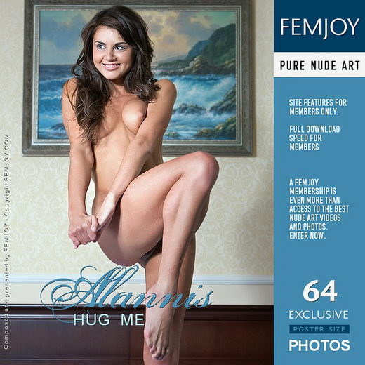 Alannis - `Hug Me` - by Marian Silva for FEMJOY