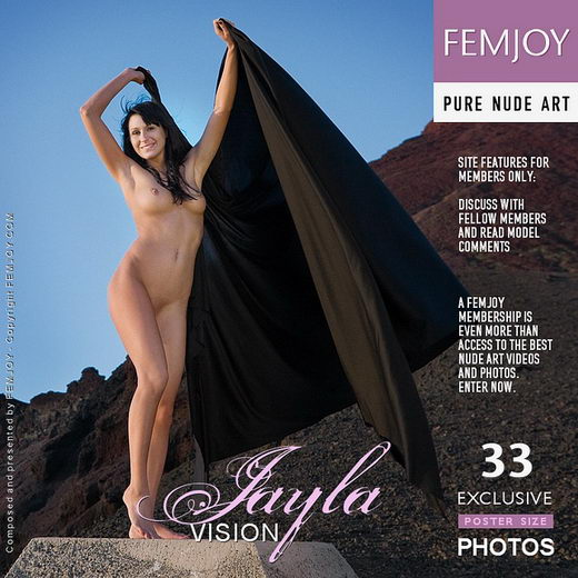 Jayla - `Vision` - by Stefan Soell for FEMJOY