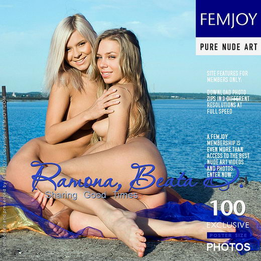 Ramona & Beata D - `Sharing Good Times` - by Pasha Lisov for FEMJOY