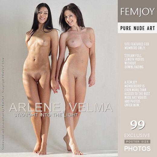 Arlene & Velma - `Straight Into The Light` - by Platonoff for FEMJOY