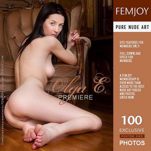 Olga E - `Premiere` - by Alexandr Petek for FEMJOY