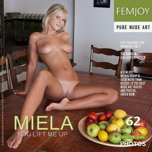 Miela - `You Lift Me Up` - by Andrej Lupin for FEMJOY