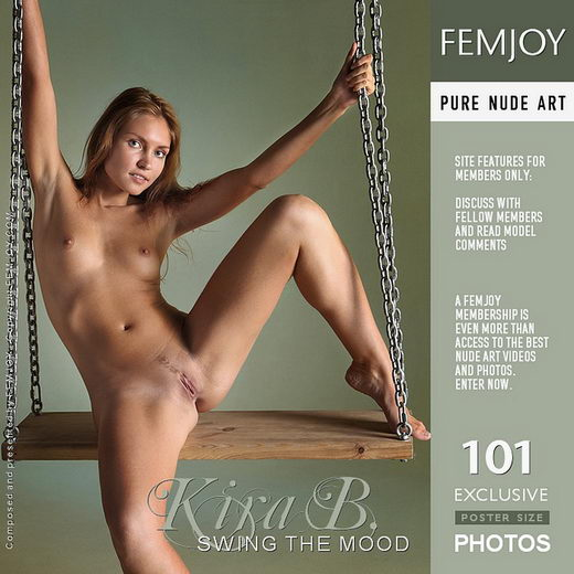 Kira B - `Swing the Mood` - by Platonoff for FEMJOY